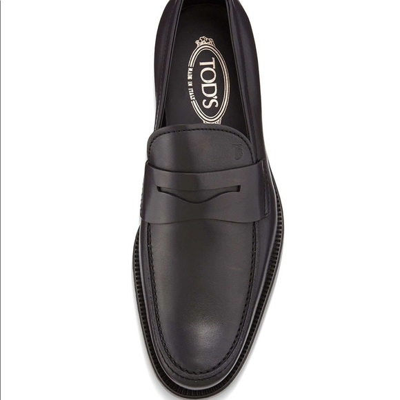 Tod's Boston Leather Penny Loafer